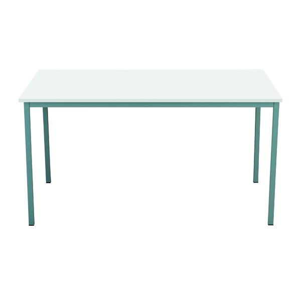 Serrion Rectangular Table 1500mm White ERECT1500WH