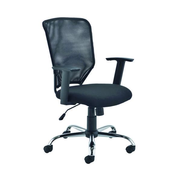 Jemini Low Back Operator Mesh Chair Black