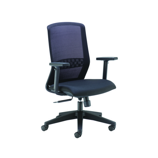 Arista Tekna High Back Executive Mesh Chair Black