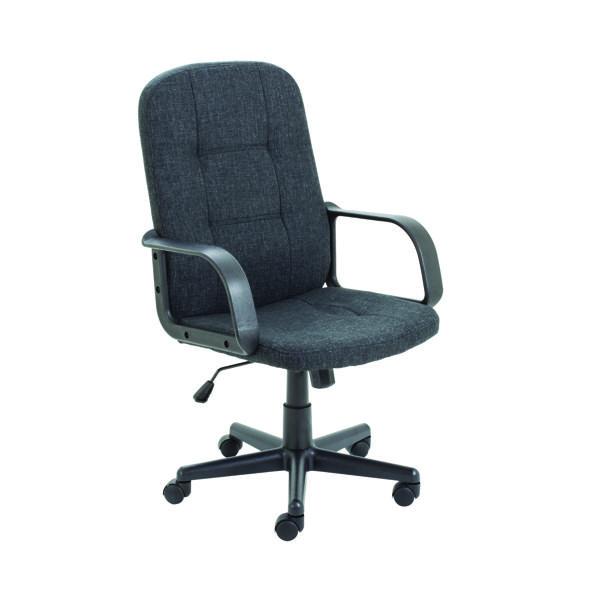 Jemini Jack 2 Fabric Executive Chair Charcoal