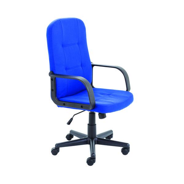 Jemini Jack 2 Fabric Executive Chair Royal Blue