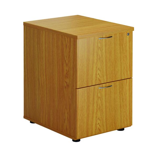 First Two Drawer Filing Cabinet Nova Oak
