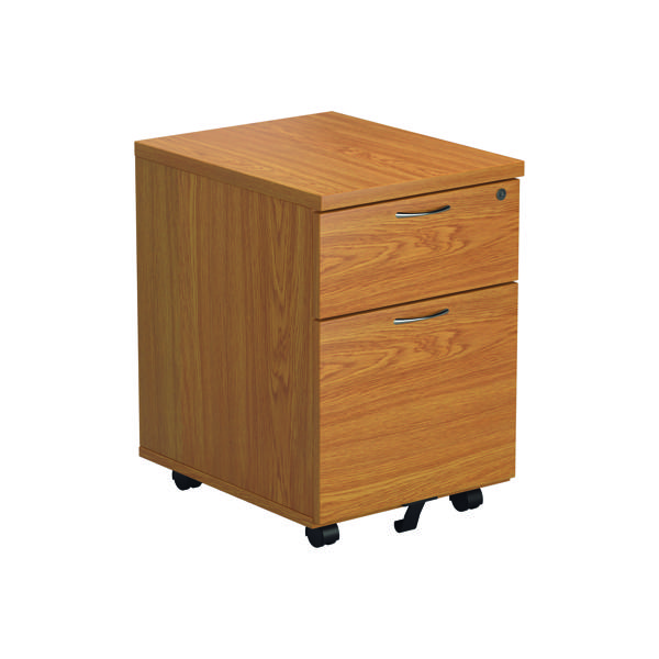 First 2 Drawer Mobile Pedestal Nova Oak