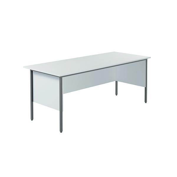Serrion 4 Leg Desk 1800mm White