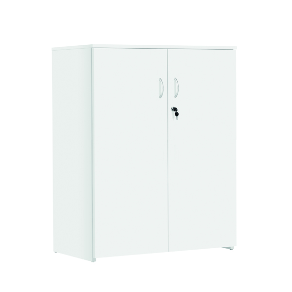 Serrion Medium Storage Cupboard 1225mm White