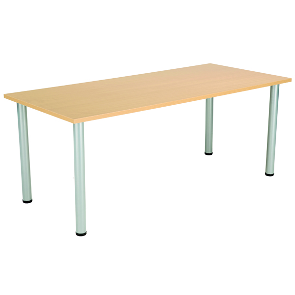 Serrion Rectangular Meeting Table Oak
