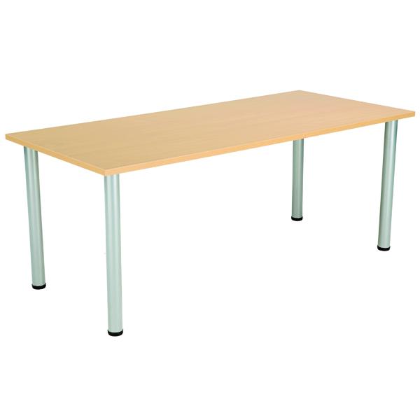 Serrion Rectangular Folding Table Oak