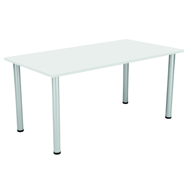 Serrion Rectangular Folding Table White