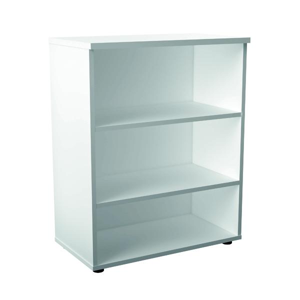 First 1000 Wooden Bookcase 450mm Depth White