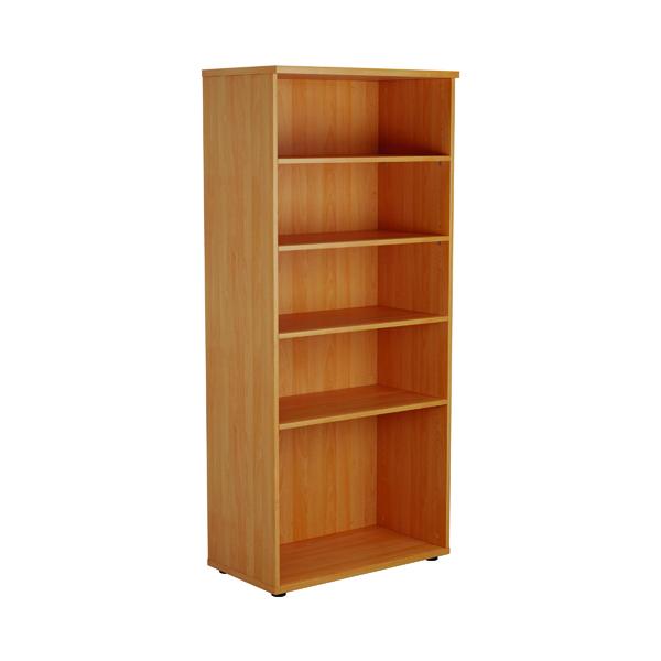 First 1800 Wooden Bookcase 450mm Depth Beech