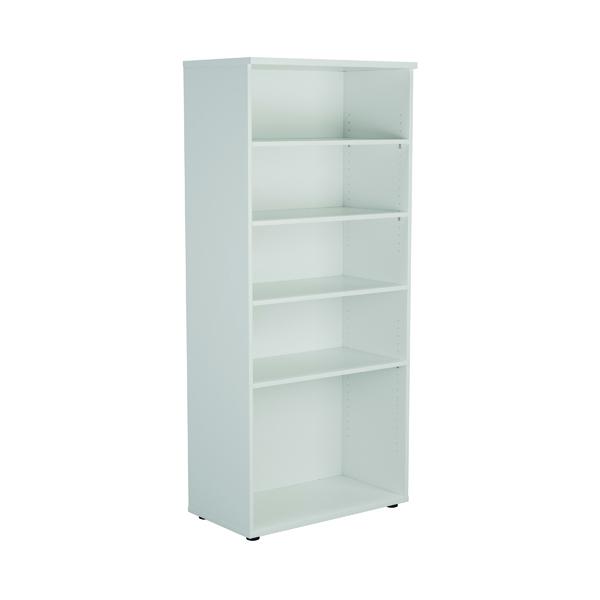 First 1800 Wooden Bookcase 450mm Depth White