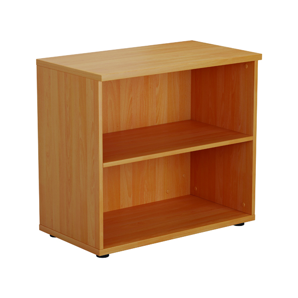 Image for First 700 Wooden Bookcase 450mm Depth Beech KF803775