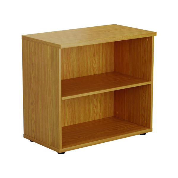 First 1 Shelf Wooden Bookcase 800x450x700mm Nova Oak