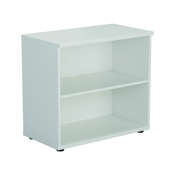 Image for First 700 Wooden Bookcase 450mm Depth White KF803799