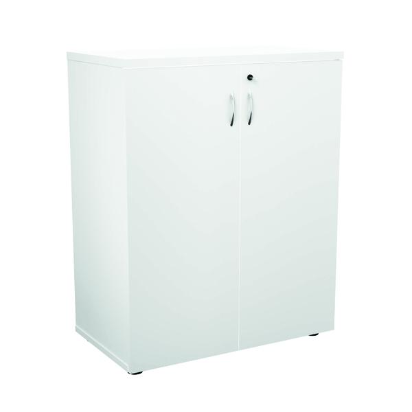Jemini 1000 Wooden Cupboard 450mm Depth White