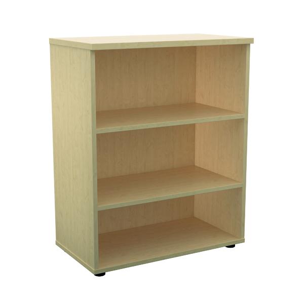 Jemini 1000 Wooden Bookcase 450mm Depth Maple