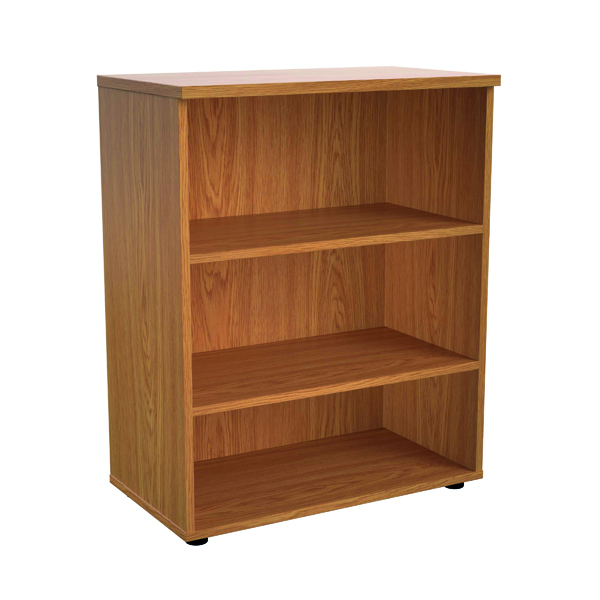 Jemini 1000 Wooden Bookcase 450mm Depth Nova Oak