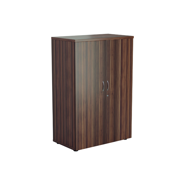 Jemini 1200 Wooden Cupboard 450mm Depth Dark Walnut