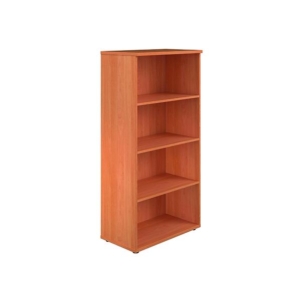 Jemini 1600 Wooden Bookcase 450mm Depth Beech