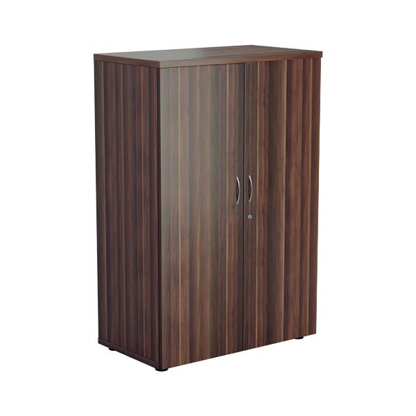 Jemini 1600 Wooden Cupboard 450mm Depth Dark Walnut