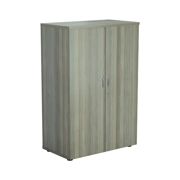 Jemini Wooden Cupboard 800x450x1600mm Grey Oak