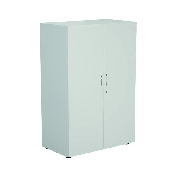 Jemini 1600 Wooden Cupboard 450mm Depth White