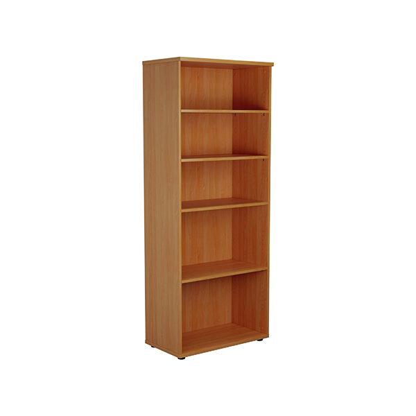 Jemini 2000 Wooden Bookcase 450mm Depth Beech