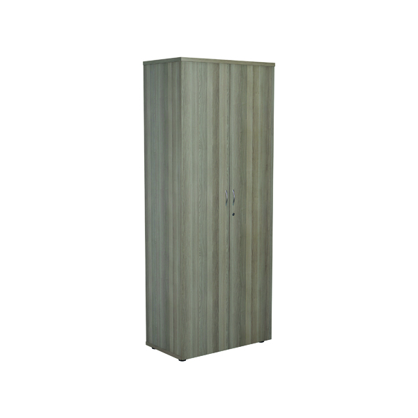 Jemini 2000 Wooden Cupboard 450mm Depth Grey Oak