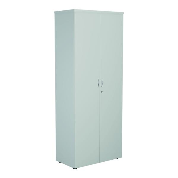 Jemini Wooden Cupboard 800x450x2000mm White