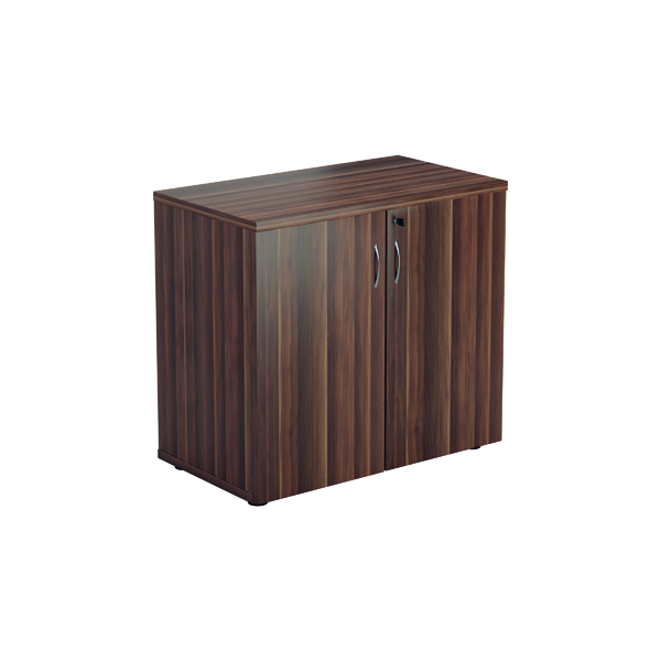 Jemini 700 Wooden Cupboard 450mm Depth Dark Walnut