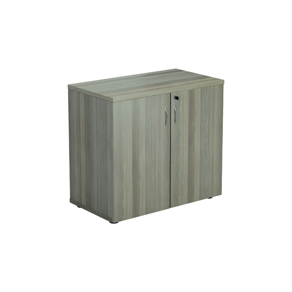 Jemini 700 Wooden Cupboard 450mm Depth Grey Oak