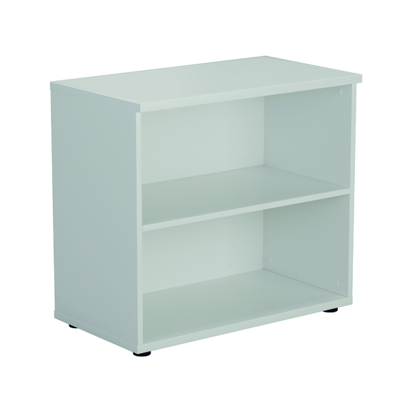 Jemini 700 Wooden Bookcase 450mm Depth White