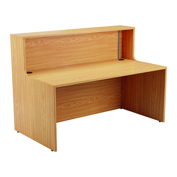 Jemini Reception Unit 1600mm Nova Oak