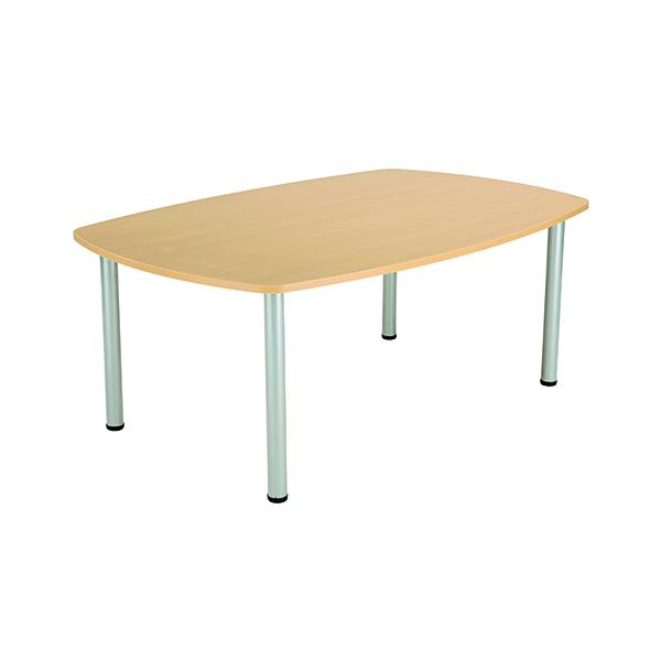 Jemini Boardroom Table Nova Oak