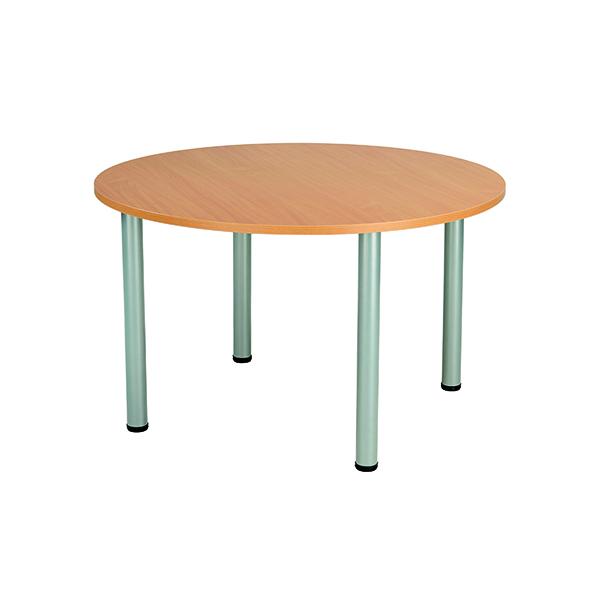 Jemini Circular Meeting Table Beech