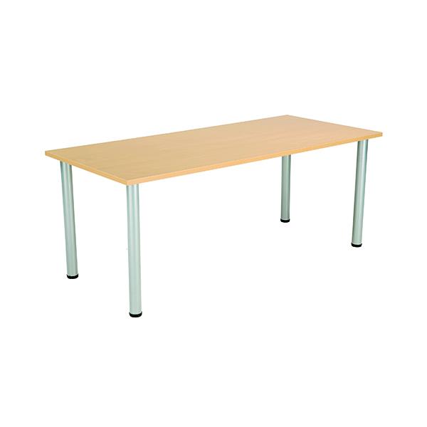 Jemini Rectangular Meeting Table Nova Oak