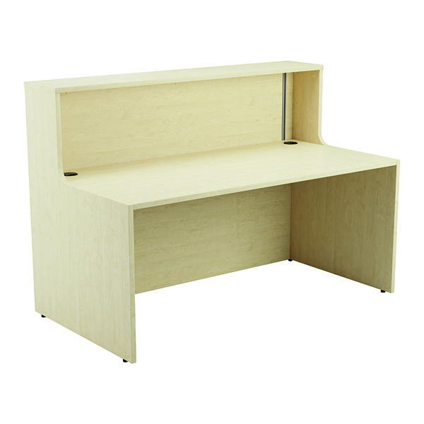 Jemini Reception Unit 1400mm with Extension Maple