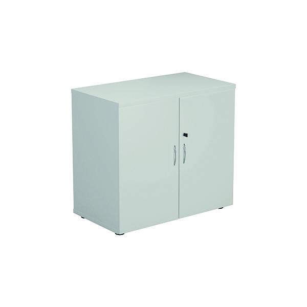 FF First Wooden Storage Cupboard 730mm White