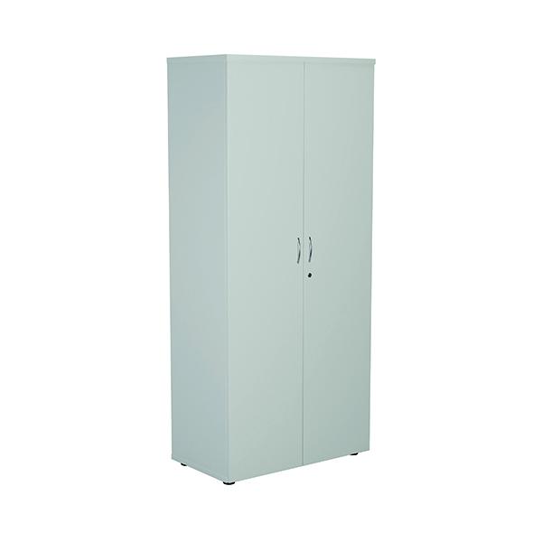 FF First Wooden Storage Cupboard 1800mm White