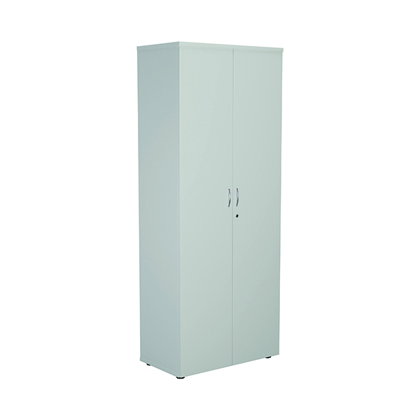 FF First Wooden Storage Cupboard 2000mm White WDS2045CPWH
