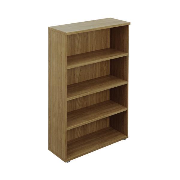 Avior Executive Bookcase 1005x404x1560mm Nova Oak