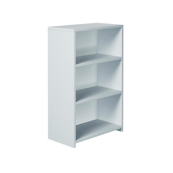 Serrion Premium Bookcase 1200mm White