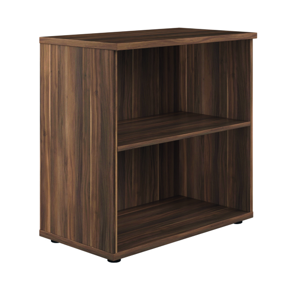 Jemini 800 Bookcase D450mm Dark Walnut