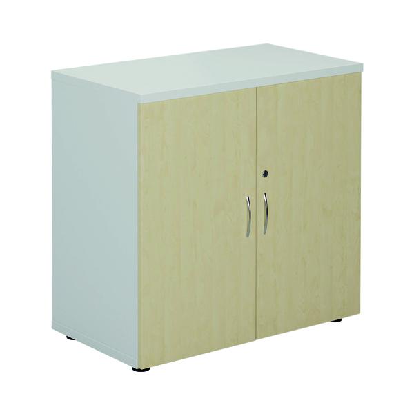 Jemini 800 Cupboard White/Maple