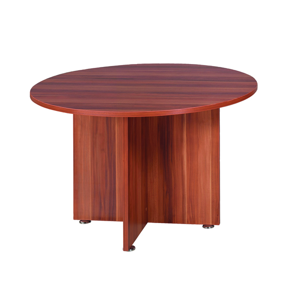 Avior Cherry 1200mm Round Meeting Table (Dimensions: Diameter 1200mm x H750mm)