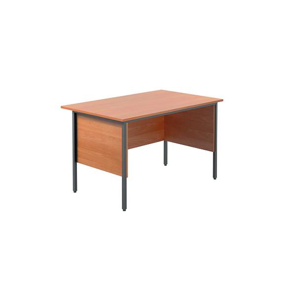 Image for Serrion Bavarian Beech 1200mm Four Leg Desk KF838367