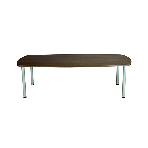 Jemini Grey Oak 1800mm Boardroom Table (Dimensions: W1800 x D1000 x H730mm)