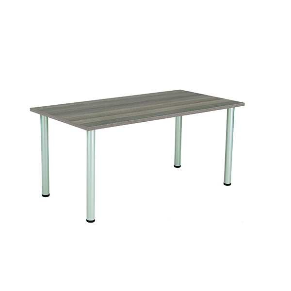 Jemini Grey Oak 1600x800mm Rectangular Meeting Table