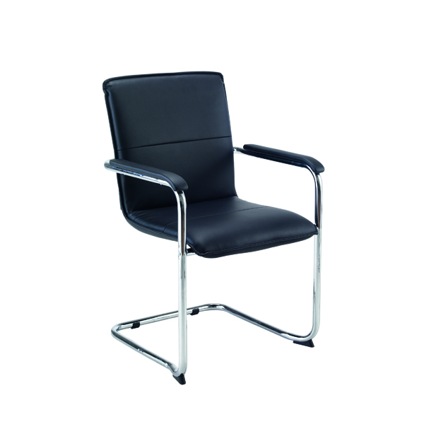 FF First Stratus Tuscany Leather Look Visitor Chair