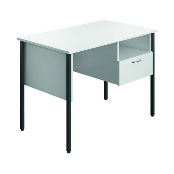Image for Eco 18 Homework Desk Four Leg White ECS1000FLWH